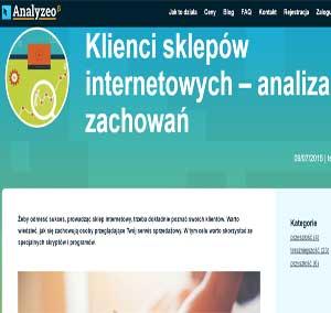 Klienci sklepów internetowych – analiza zachowań