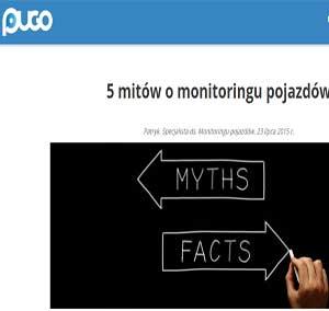 5 mitów o monitoringu pojazdów