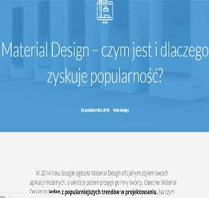 Material Design – czym jest i dlaczego zyskuje popularność?